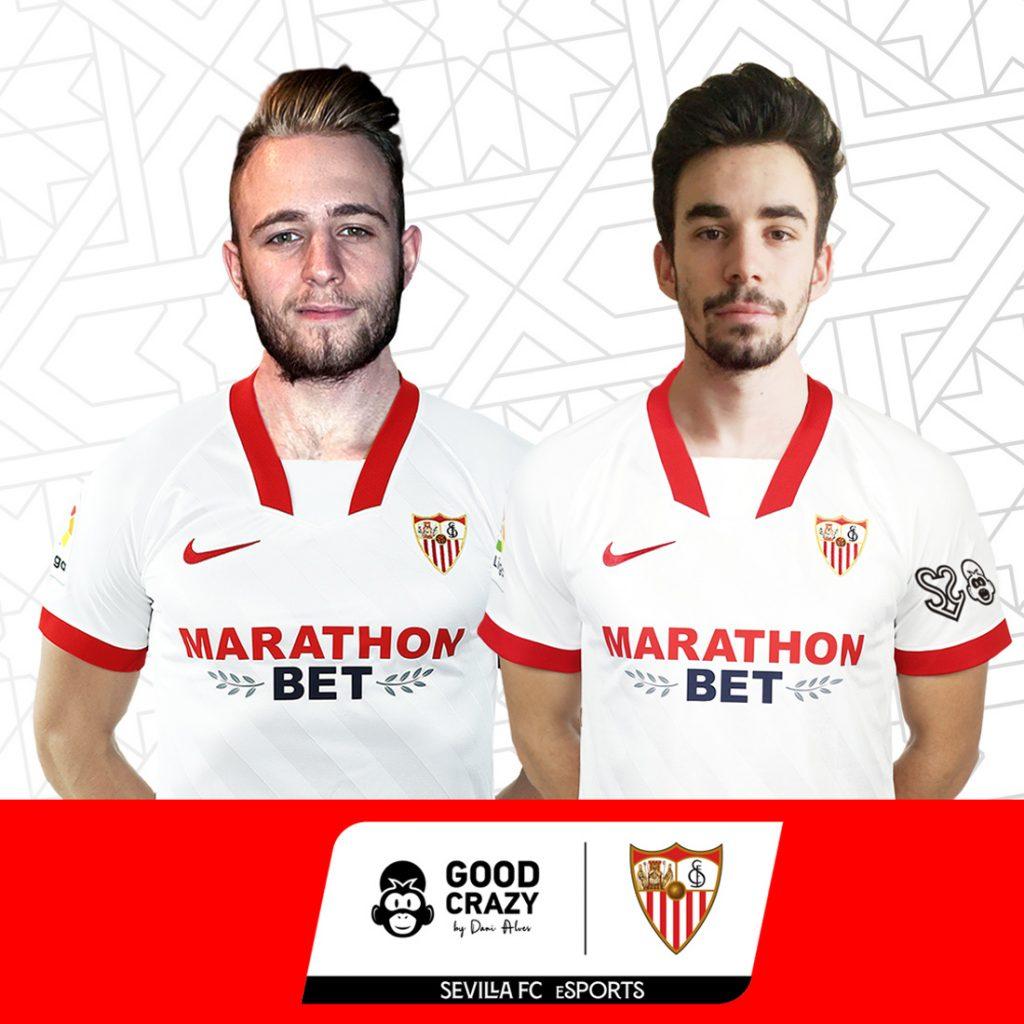 Roster del Sevilla y Good Crazy para la eLaliga